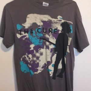 Tops - The Cure band t shirt